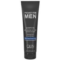 Купить Ollin Premier For Men Shampoo Hair Body Refreshening - Шампунь для волос и тела освежающий, 1000 мл, Ollin Professional