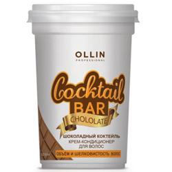 Фото Ollin Professional Cocktail Bar - Крем-кондиционер для волос, Шоколадный коктель, 500 мл
