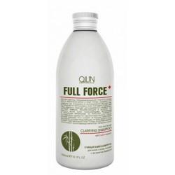 Фото Ollin Professional Full Force Hair&Scalp Purifying Shampoo With Bamboo Extract - Очищающий шампунь для волос и кожи головы с бамбуком, 300 мл.