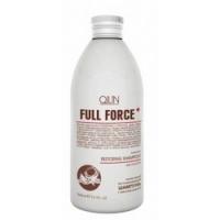 Купить Ollin Professional Full Force Intensive Restoring Shampoo With Coconut Oil - Интенсивный восстанавливающий шампунь с маслом кокоса, 300 мл.