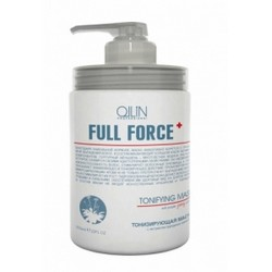 Ollin Professional Full Force Tonifying Mask With Purple Ginseng Extract - Тонизирующая маска, 650 мл.
