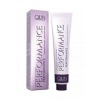 Купить Ollin Professional Performance - Перманентная крем-краска для волос, 4-09 шатен прозрачно-зеленый, 60 мл.