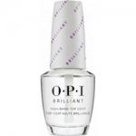 Фото OPI Brilliant Top Coat - Верхнее покрытие с бриллиантовым блеском, 15 мл