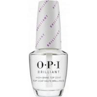 OPI Brilliant Top Coat - Верхнее покрытие с бриллиантовым блеском, 15 мл