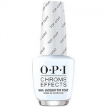 Фото OPI Chrome Effects Nail Lacquer Top Coat - Топовое покрытие, 15 мл