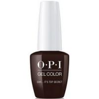 OPI Classic GelColor Shh...Its Top Secret - Гель для ногтей, 15 мл