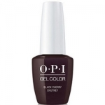 Фото OPI Gelcolor Black Chrry Chutney - Гель-лак, 15 мл.