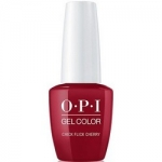 Фото OPI Gelcolor Chick Flick Cherry - Гель-лак, 15 мл.