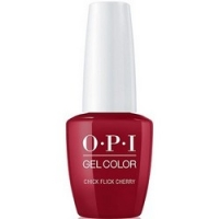 OPI Gelcolor Chick Flick Cherry - Гель-лак, 15 мл.