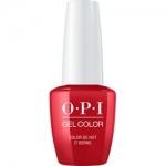 Фото OPI Gelcolor Color So Hot It Berns - Гель-лак, 15 мл.