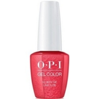 OPI Gelcolor Go With The Lava Flow - Гель-лак, 15 мл.