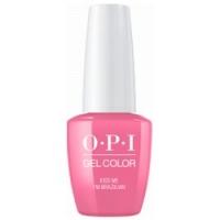 Купить OPI Gelcolor Kiss Me Im Brazilian - Гель-лак, 15 мл.