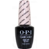 OPI Gelcolor Put It In Neutral - Гель-лак, 15 мл.