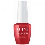 Фото OPI Gelcolor Red Hot Rio - Гель-лак, 15 мл.