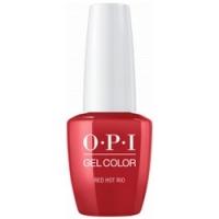 OPI Gelcolor Red Hot Rio - Гель-лак, 15 мл.