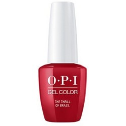 Фото OPI Gelcolor Thrill Of Brazil - Гель-лак, 15 мл.