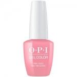 Фото OPI Grease GelColor Pink Ladies Rule the School - Гель-лак для ногтей, 15 мл