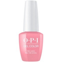 OPI Grease GelColor Pink Ladies Rule the School - Гель-лак для ногтей, 15 мл