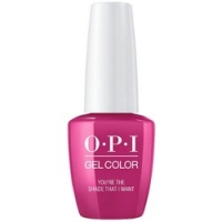 OPI Grease GelColor You're the Shade That I Want - Гель-лак для ногтей, 15 мл