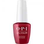 Фото OPI Iconic GelColor An Affair in Red Square - Гель-лак для ногтей, 15 мл