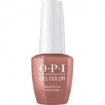 Фото OPI Iconic GelColor Barefoot in Barcelona - Гель-лак для ногтей, 15 мл