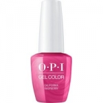 Фото OPI Iconic GelColor California Raspberry - Гель-лак для ногтей, 15 мл
