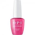 Фото OPI Iconic GelColor Cha-Ching Cherry - Гель-лак для ногтей, 15 мл