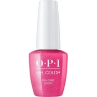 OPI Iconic GelColor Cha-Ching Cherry - Гель-лак для ногтей, 15 мл