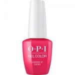 Фото OPI Iconic GelColor Charged Up Cherry - Гель-лак для ногтей, 15 мл