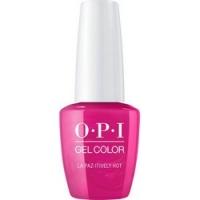 Купить OPI Iconic GelColor La Paz-tively Hot - Гель-лак для ногтей, 15 мл