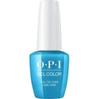 OPI Iconic GelColor Teal the Cows Come Home - Гель-лак для ногтей, 15 мл