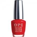 Фото OPI Infinite Shine Unequivocally Crimson - Лак для ногтей, 15 мл.