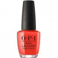 OPI Lisbon A Red-vival City - Лак для ногтей, 15 мл