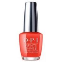 OPI Lisbon Infinite Shine A Red-vival City - Лак для ногтей, 15 мл