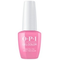 OPI Peru GelColor Lima Tell You About This Color! - Гель-лак для ногтей, 15 мл