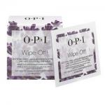 Фото OPI Wipe-Off! Acetone-Free Lacquer Remover Wipes - Салфетки без ацетона для снятия лака, 10 шт