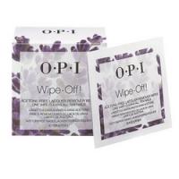 Купить OPI Wipe-Off! Acetone-Free Lacquer Remover Wipes - Салфетки без ацетона для снятия лака, 10 шт