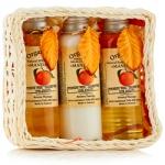 Organic Tai Set Mandarin - Набор по уходу за волосами и телом с экстрактом мандарина, 120*3 шт