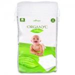 Фото Organyc - Детские ватные подушечки из органического хлопка, 60 шт.