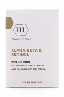 Купить Holy Land Alpha-Beta & Retinol Peeling Pads - Отшелушивающие салфетки, 24 шт
