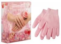 Beauty Style Gezatone - Перчатки гелевые, увлажняющие с экстрактом розы, 1 пара