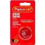 Papaya Gold Paw Paw Papaya Lip Balm - Бальзам для губ с медом манука в баночке, 7 г