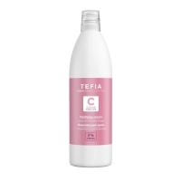 Tefia Color Creats - Крем окисляющий с глицерином и альфа-бисабололом 3% vol. 10, 1000 мл