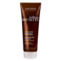 Купить John Frieda Brilliant Brunette - Увлажняющий кондиционер для защиты цвета темных волос 250 мл