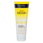 Фото John Frieda Sheer Blonde - Кондиционер осветляющий для натуральных , мелированных и окрашенных светлых волос 250 мл