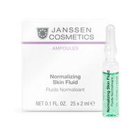 Купить Janssen Cosmetics Ampoules Normalizing Fluid - Нормализующий концентрат для ухода за жирной кожей 7 x 2 мл