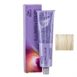Wella Professionals Illumina Color - Стойкая крем-краска 10/1 Яркий блонд пепельный 60 мл