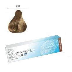 Wella Professionals Koleston Perfect Innosense - Стойкая крем-краска 7/0 Блонд 60 мл