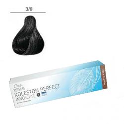 Wella Professionals Koleston Perfect Innosense - Стойкая крем-краска 3/0 Темно-коричневый 60 мл