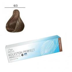 Wella Professionals Koleston Perfect Innosense - Стойкая крем-краска 6/3 Темный блонд золотистый 60 мл